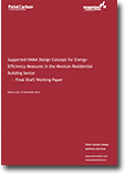 Supported NAMA design concept for energy-efficiency measures in the Mexican Residential Building Sector