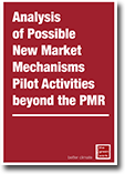Analysis of Possible New Market Mechanisms Pilot Activities beyond the PMR