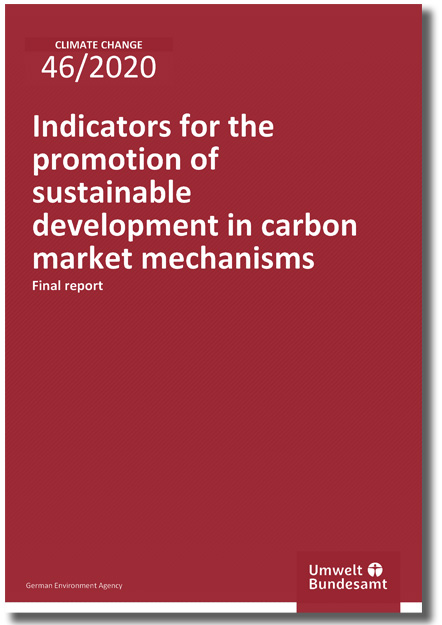 Indicators for the promotion of sustainable development in carbon market mechanisms